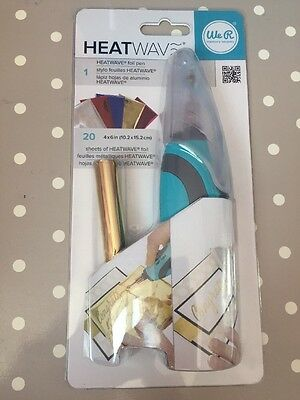 We R Memory Keepers Heatwave Foil Pen Starter Kit - New & Sealed