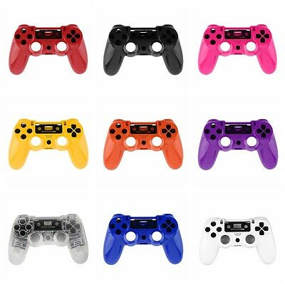 Gamepad Controller Housing Shell W/Buttons Kit for PS4 Handle Cover Case MJ