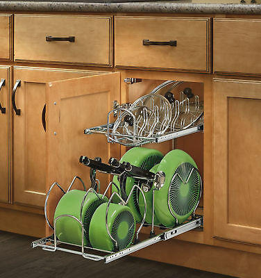 Rev-A-Shelf 2 Tier Pull Out Kitchenware Divider