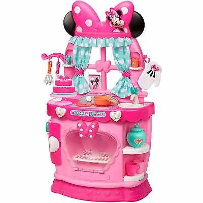 Minnie Mouse Kitchen Disney Bow Tique Sweet Surprises Playset BDAY Ships Fast