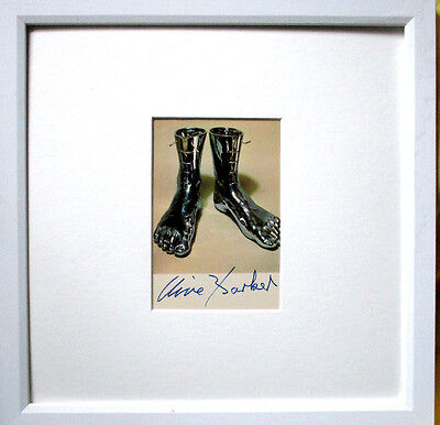 CLIVE BARKER >Hommage an Magritte< HAND-SIGNIERT,  mit Rahmen, orig.signed