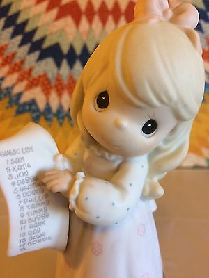 Precious Moments - Growing In Grace Age 15 ~ 272663 Blonde Porcelain Figurine