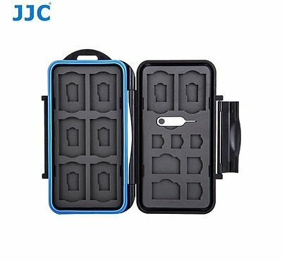1x SD 2x MSD JJC BC-LPE17 2in1 Battery Case//Memory Card Case fits Canon LP-E17