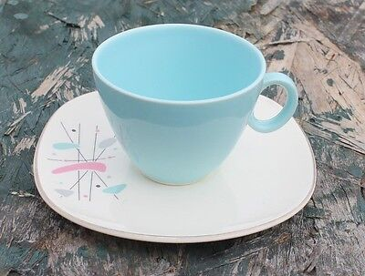 Knowles K-5069 Mid-Century Atomic Mobile Pattern CUP + Saucer