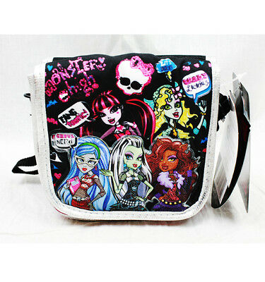 Monster High Medium Shoulder Bag/Cross-Body/Purse/Wallet