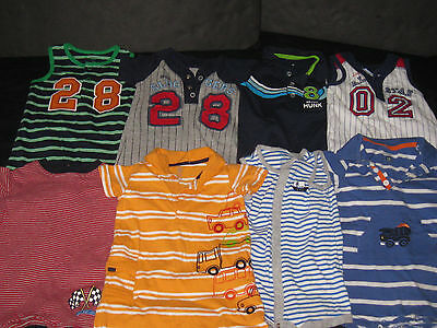 BABY Boys 12 Months  Rompers One Piece Outfit Spring Summer Clothes Lot