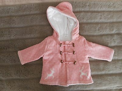 Pure Baby Girls Jacket Size 00 - Brand New With Tags