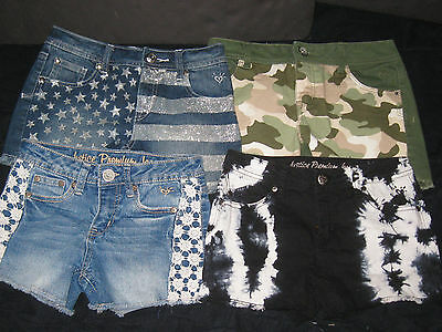 Girls Size 12 Regular  Justice Shorts Lot Spring Summer Clothes Lot
