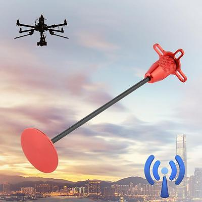 4-Axis GPS Foldable Antenna Holder Base Signal Bracket for Quadcopter Red SPu