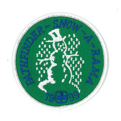 """Girl Guide Scout Brownie BADGE PATCH – new! Canada Pathfinder Snowarama 3"""""""