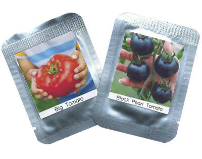 Tomatoes Seeds 2er Set - je ca. 100 Tomato seeds / Pack RARITIES TYPES