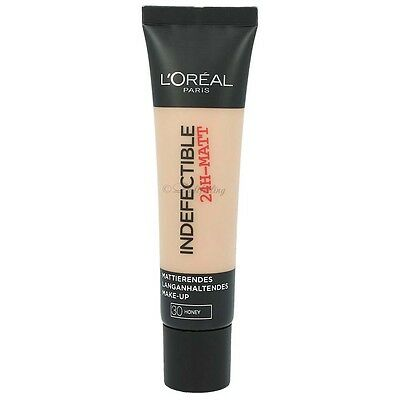 L'oreal Indefectible 24H-MATT 30-Honey 35 ml