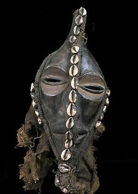 Old Tribal Dan Bagle  Mask ---- Coted'Ivoire  BN 8