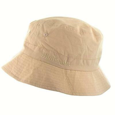 Highlander Beige Light Weight Breathable Premimum Sun Hat Travel Sun Protection