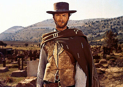 Art Print Poster / Canvas Clint Eastwood in The Outlaw Josey Wales