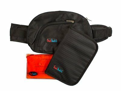 Hotbott Re-Usable Heated Waist Pack and Seat, Black