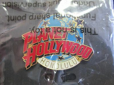 Rare Planet Hollywood Honolulu Collectors Pin New Sealed