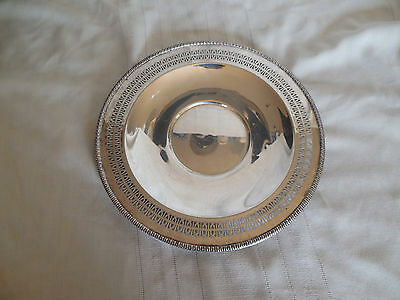 "Wm Rogers I/S silverplate  12 1/4"" tray #4321"