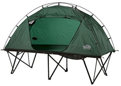 Kamp-Rite Compact Collapsible Combo Easy Pitch Tent Cot Camping Shelter