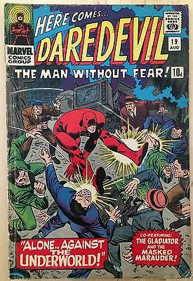 Marvel Comics Daredevil #19 August 1966 Vol.1 No.19 pence copy