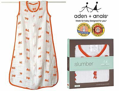 Summer Sleeping Bags (Fishes) - Aden and Anais Top Quality Muslin