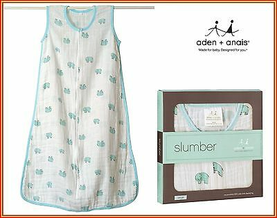 Sleeping Bags (Elephant) - Aden and Anais Top Quality Muslin - iParenting Awards