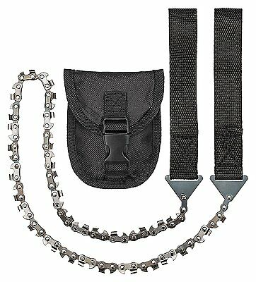 Camp Buddy Hand Chainsaw with Belt Bag Survival Accessories Outdoor Camping