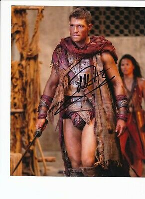 Liam Mcintyre  Authentic Signed Autograph Ottawa Comiccon 2015  Flash Spartacus