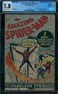 Amazing Spider-Man 1 CGC 1.8