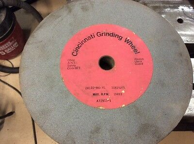 3 cincinnati grinding wheels 10x1-1/4x7/8