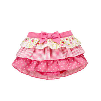 NWT Gymboree Girls' Summer Ruffle Skirt Size 6-12 Months  Mini Bloom Line