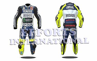 Valentino Rossi VR46 Motorbike Racing Leather Suit 2013 Mens & Womens All Size
