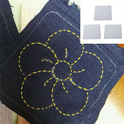 Embroidery Template Plastic Matting Board Quilting Templates Patchwork Tool NEW