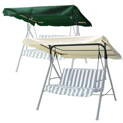 """73""""x53"""" Patio Swing Canopy Replacement Top Cover Outdoor Garden Porch Furniture"""