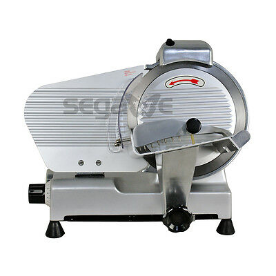 """Premium 10"""" Blade Commercial Deli Meat Cheese Food Electric Slicer Chef's Fresh"""