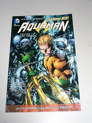 Aquaman Trench Volume 1 DC Comics (Paperback)< 9781401237103