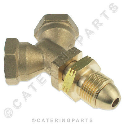 Brass Y Pol Male Connector Piece 2 X Female For Lpg Lp Propane Cylinder Bottles