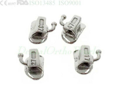 5Kit(20) 2nd Molar Buccal Tube Roth 022 Sgl Dental Orthodontic Band Niti Archwir