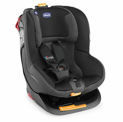 New Chicco Coal Oasys Group 1 Reclining Car Seat Padded Baby Childs Carseat