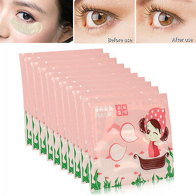 20 Pairs Crystal Collagen Under Eye Patches Mask Dark Circle Bags Wrinkles Aging