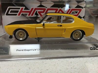 50401 Src Ford Capri Lv Aggressive Chrono Series Slot Car 1:32 Scale