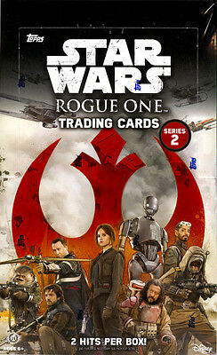 2017 Topps Star Wars Rogue One series 2 hobby sealed 12-box case only 375 cases