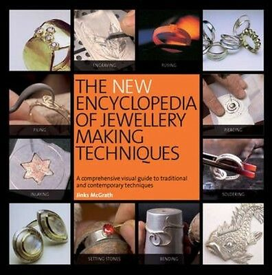 New Encyclopedia of Jewellery Making Techniques by Jinks Mcgrath Paperback Book