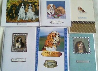 Cavalier king charles spaniel Handmade greeting cards Pack of 6