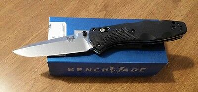 BENCHMADE New Assisted Barrage Plain Edge 154CM Blade Knife/Knives