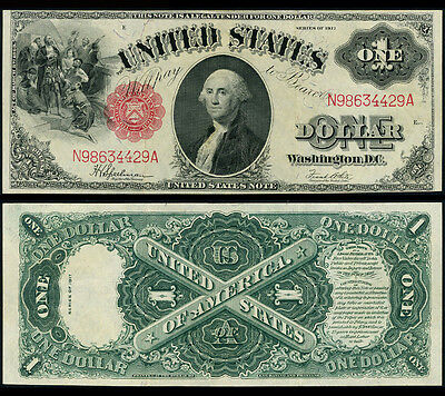 FR. 39 $1 1917 Legal Tender Extra Fine+