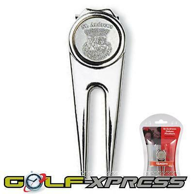 Masters Golf -  St Andrews Deluxe Pitchfork / Magnetic Ball Marker