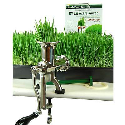 Manual Wheat Grass Juicer Wheatgrass - Handy Pantry - Juice Barleygrass - Steel