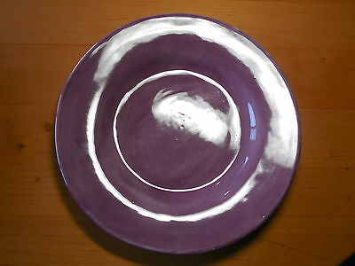 Pottery Barn Mexico SAUSALITO LAVENDER Set of 5 Dinner Plates 12""