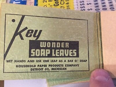 Vintage Wonder Soap Leaves, Household Paper Products.